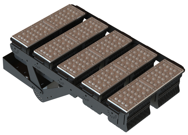 промышленный светильник, IP65 FG 100 44LED 300W