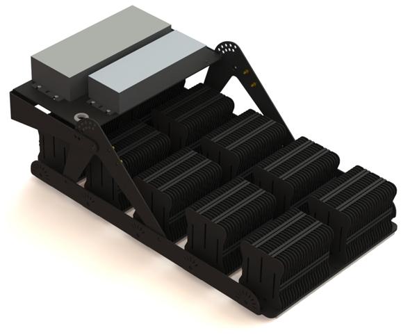 Промышленный светильник FG 100 44LED 800W back